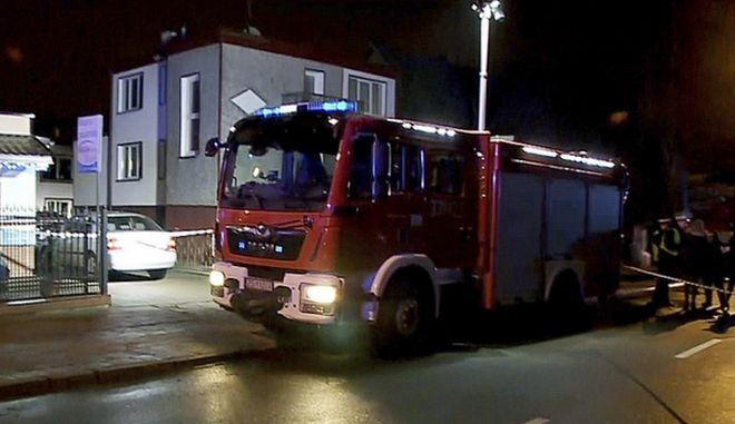 Πυροσβεστικό όχημα στην Πολωνία