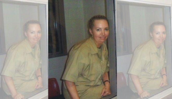 H Lisa Montgomery, το 2017, όταν μεταφέρθηκε στο Ομοσπονδιακό Ιατρικό Κέντρο του Carswell, στο Τexas.