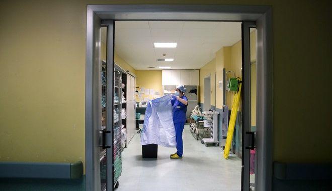 Νοσοκομείο στο Μιλάνο σε καιρό πανδημίας κορονοϊού