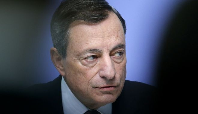 Ο πρόεδρος της ΕΚΤ, Μάριο Ντράγκι