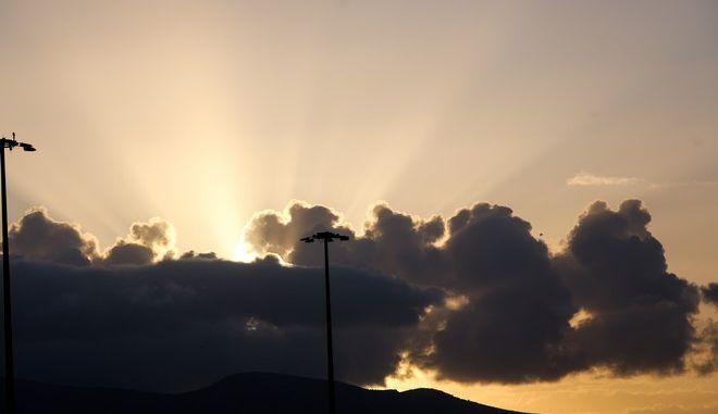 Συννεφιά στην Αττική