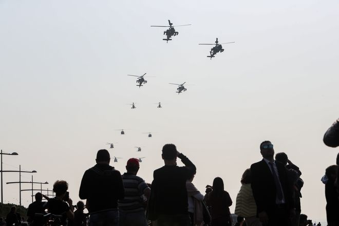 Θεσσαλονίκη, στρατιωτική παρέλαση για την 28η Οκτωβρίου
