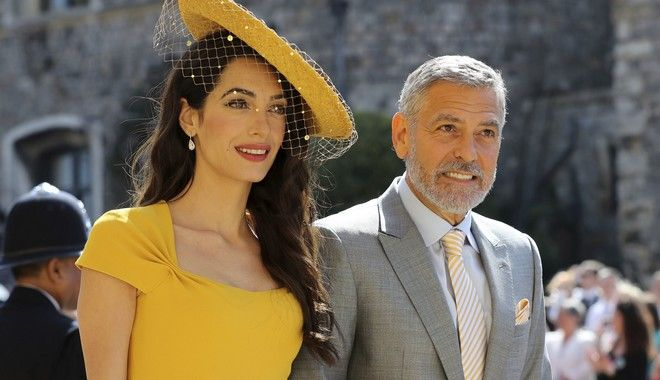 Ο Τζορτζ Κλούνεϊ και η Αμάλ Αλαμουντίν