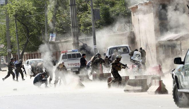 Δυνάμεις ασφαλείας στην Καμπούλ