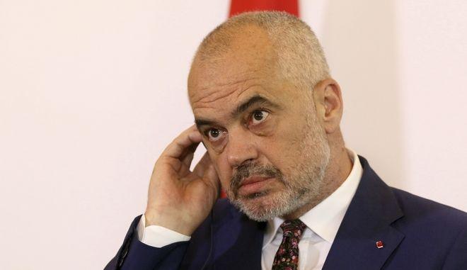 Ο πρωθυπουργός της Αλβανίας Έντι Ράμα
