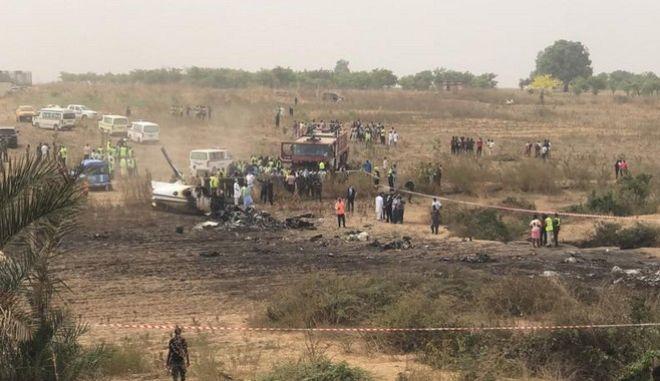 Πτώση μικρού αεροσκάφους στην Αμπούτζα της Νιγηρίας
