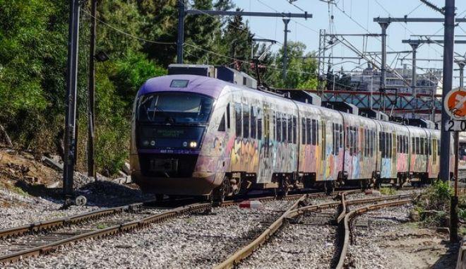 Στιγμιότυπο από τρένο
