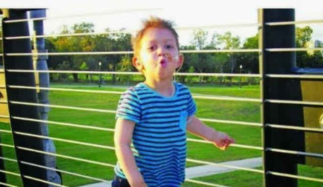 Ολοκληρώθηκε η θεραπεία του 4χρονου Λουκά