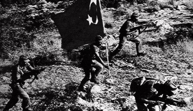 24 Ιουλίου 1974. Στιγμιότυπο από την Τουρκική εισβολή στην Κύπρο