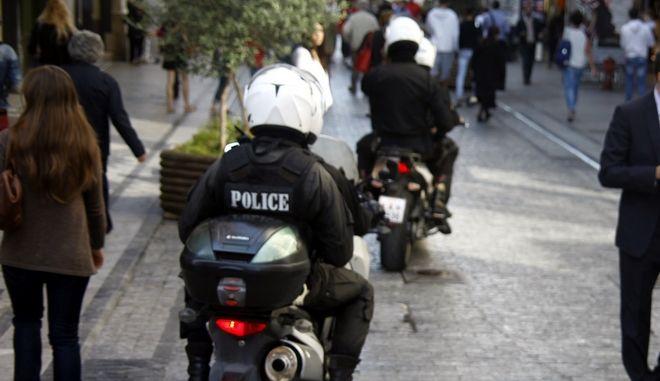 Περιπολίες αστυνομικών της ομάδας ΔΙ.ΑΣ.