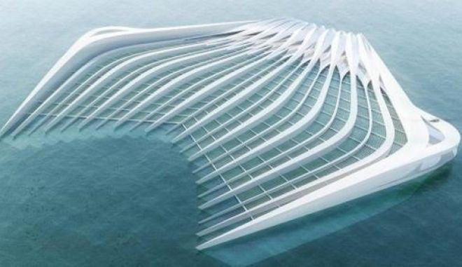 Πλωτή πλατφόρμα 400μ. ενάντια στα πλαστικά απόβλητα στη θάλασσα