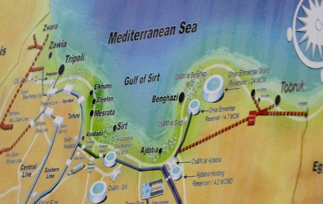 Xάρτης της Λιβύης