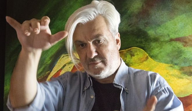 Ο Ιταλοευραΐκής καταγωγής συνθέτης και εικαστικός Zinelli