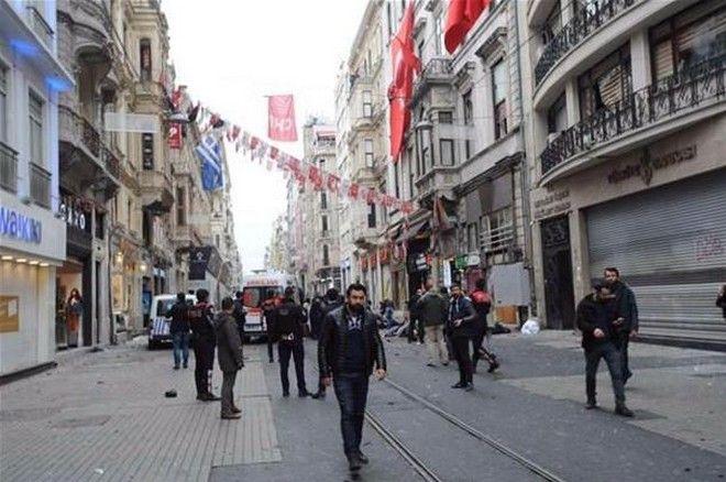 Ανατριχιαστικό βίντεο: Η στιγμή που ο καμικάζι ανατινάζεται στην Κωνσταντινούπολη
