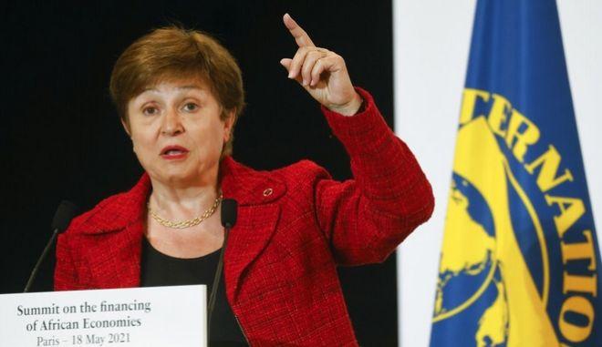 Η Γενική Διευθύντρια του ΔΝΤ, Κρισταλίνα Γκεοργκίεβα