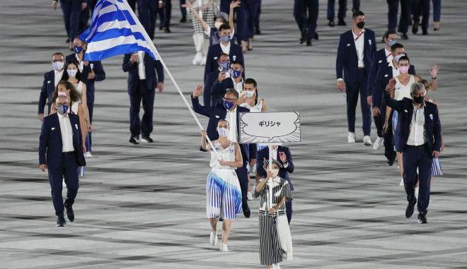 Ολυμπιακοί Αγώνες: Η είσοδος της Ελλάδας ως πρώτη χώρα στην τελετή έναρξης