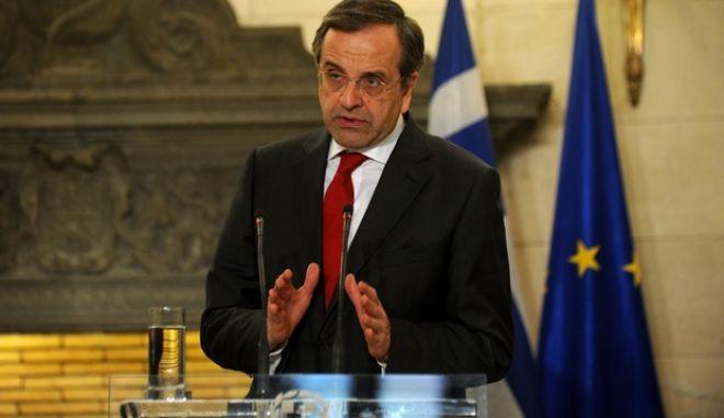 """Αντώνης Σαμαράς: """"Η μεταρρύθμιση στην Υγεία θα προχωρήσει"""""""