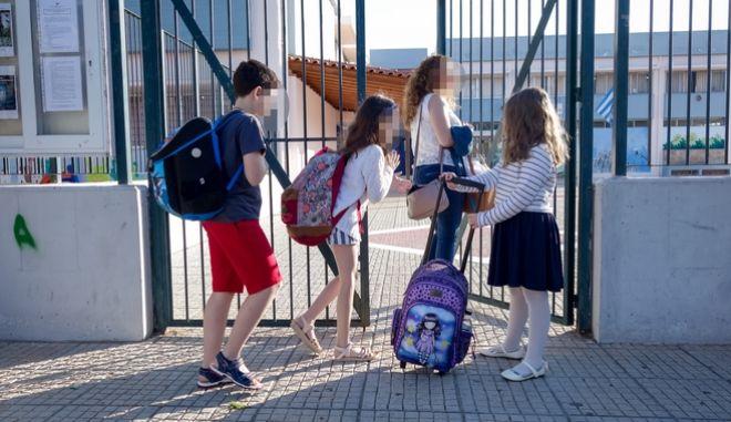 Άνοιγμα σχολείων (φωτογραφία αρχείου)