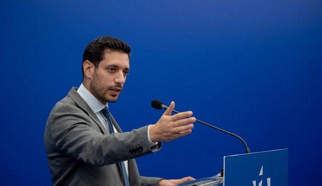 Ο υποψήφιος βουλευτής της ΝΔ, Κ. Κυρανάκης