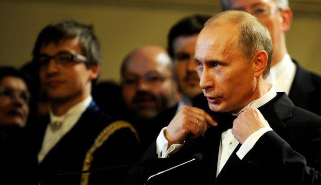 Σύσκεψη Πούτιν με το οικονομικό επιτελείο της ρωσικής κυβέρνησης