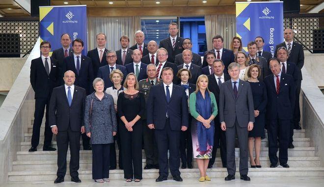 Ο Πάνος Καμμένος στο Άτυπο Συμβούλιο των υπουργών Άμυνας της ΕΕ