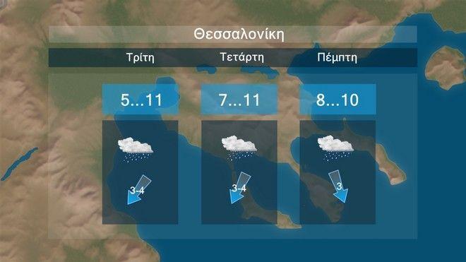 Καιρός: Βροχές και πτώση της θερμοκρασίας για τις επόμενες ημέρες