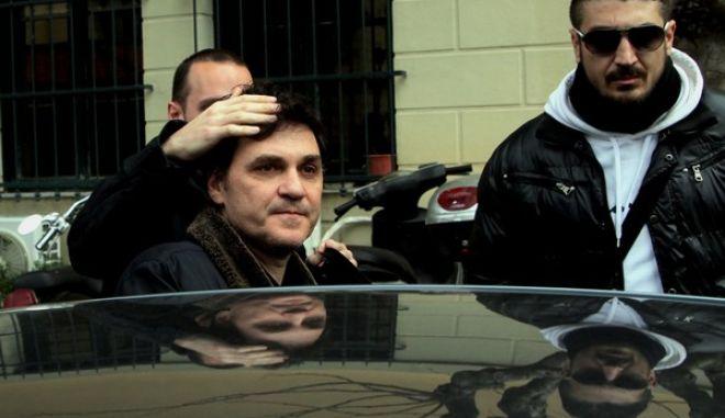 Στον εισαγγελέα και κατόπιν στον ειδικό ανακριτή,οδηγήθηκε πρίν από λίγο ο Πρώην διευθυντής του ταχυδρομικού ταμιευτηρίου 'Αγγελος Φιλιππίδης,Τετάρτη 5 Φεβρουαρίου 2014 (EUROKINISSI/ΚΩΣΤΑΣ ΚΑΤΩΜΕΡΗΣ)
