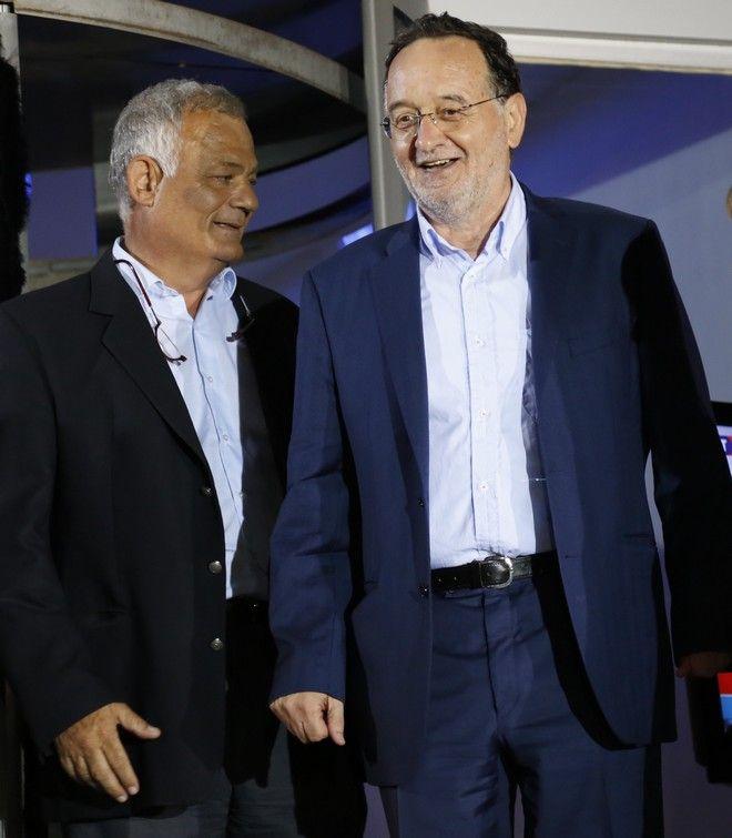 ΑΘΗΝΑ-Είσοδος των πολιτικών αρχηγών για το ντιμπέιτ  στο ραδιομέγαρο της ΕΡΤ. (Eurokinissi-ΣΤΕΛΙΟΣ ΜΙΣΙΝΑΣ)