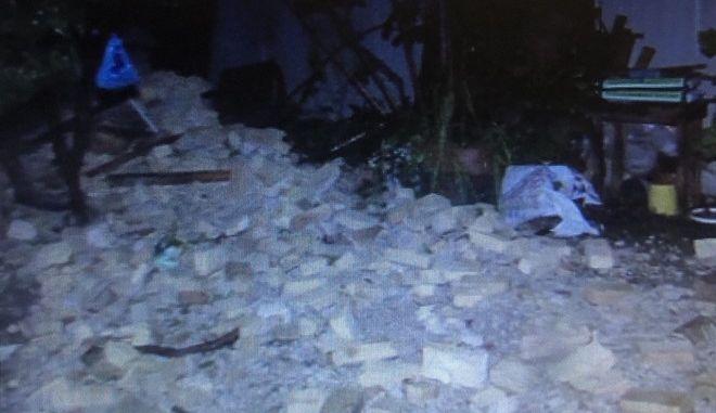 Κέρκυρα: Κατέρρευσε μέρος κτηρίου στην Εβραϊκή
