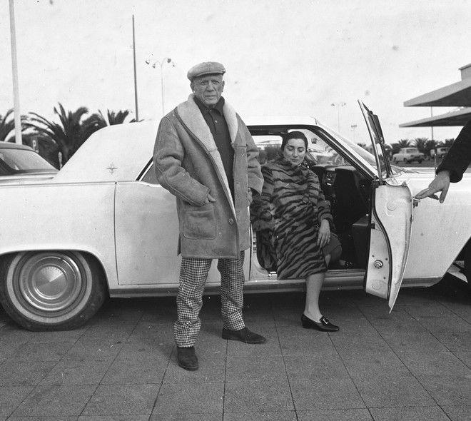 Ο Πικάσο με την τεευταί ατου σύζυγο, Ζακλίν Ροκ