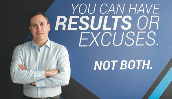 Ο CEO της Stoiximan Γ. Δασκαλάκης