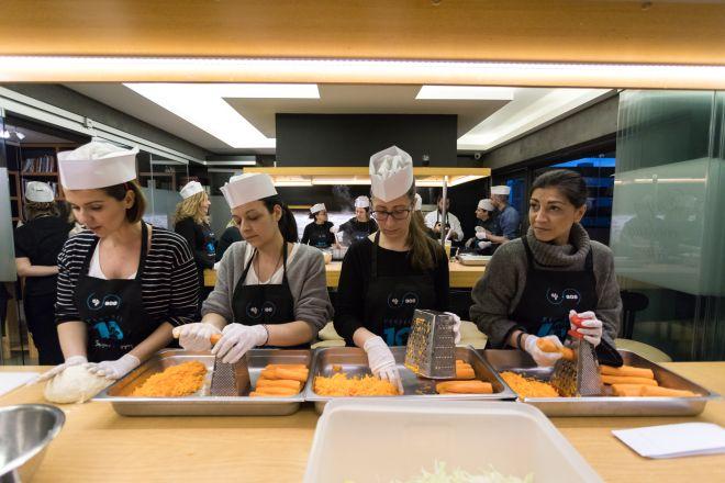Εταιρική κοινωνική ευθύνη στην πράξη από την CQS: μαγειρεύοντας για καλό σκοπό