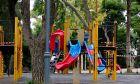 Η παιδική χαρά στο Άλσος της Νέας Σμύρνης