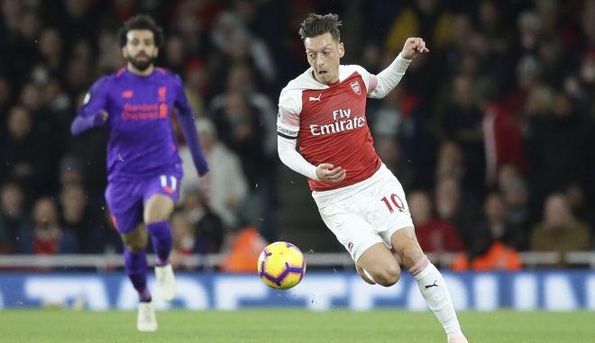 Στιγμιότυπο από το Arsenal - Liverpool