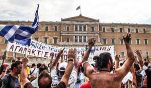Στιγμιότυπο απο τις συγκεντρώσεις των Αγανακτισμένων το 2011