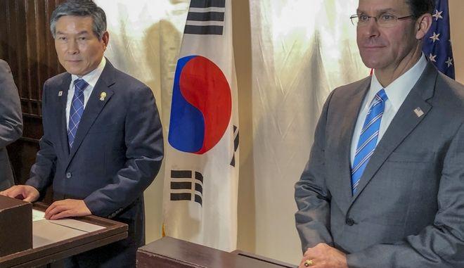 Μαρκ Έσπερ και Τζίονγκ Κιεόνγκ-ντου