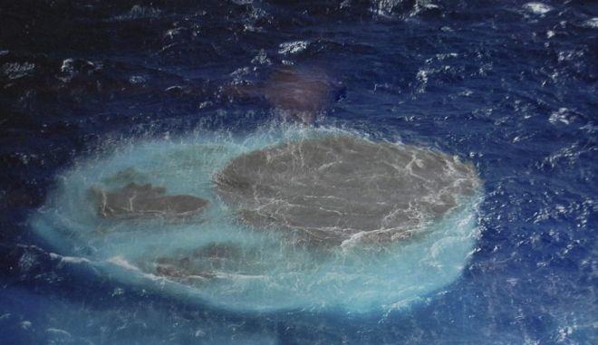 Ένα νέο νησί γεννιέται