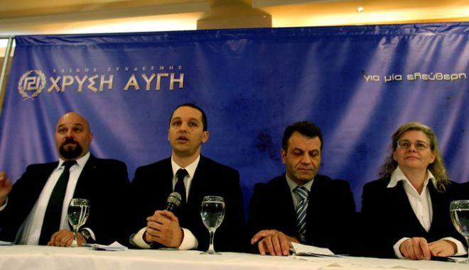 """Κασιδιάρης: """"Υποψήφιος δήμαρχος ακόμη και μέσα από τη φυλακή"""""""