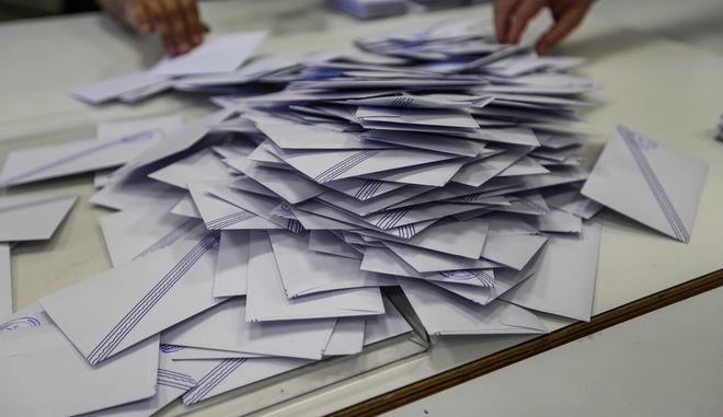 Καταμέτρηση ψήφων