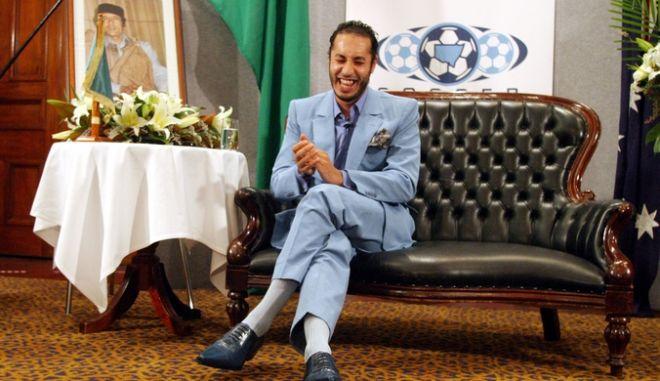 Ο Σααντί Καντάφι