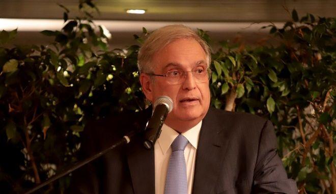 O πρώην υπουργός Οικονομίας και νυν πρόεδρος των ΕΛΠΕ Γιάννης Παπαθανασίου