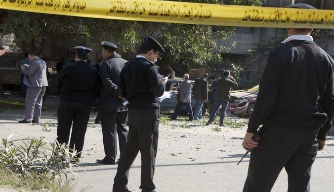 Νεκροί Αιγύπτιοι στρατιώτες και ένοπλοι στο κεντρικό Σινά