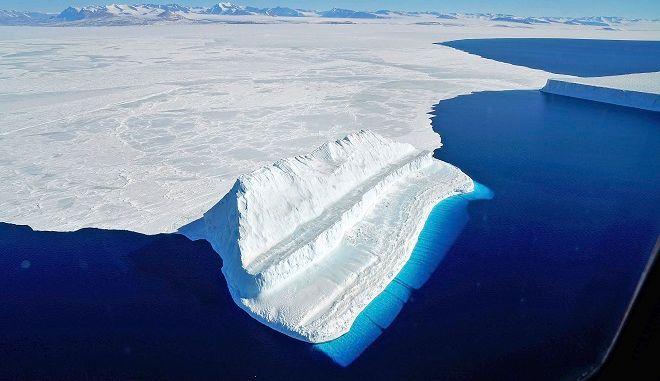 Εικόνα από την περιοχή της Αρκτικής, τον Μάρτιο του 2017