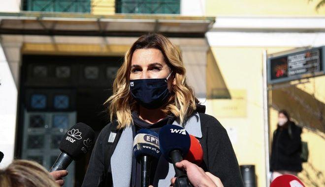 Η Σοφία Μπεκατώρου κατέθεσε στον εισαγγελέα, 20 Ιανουαρίου 2021