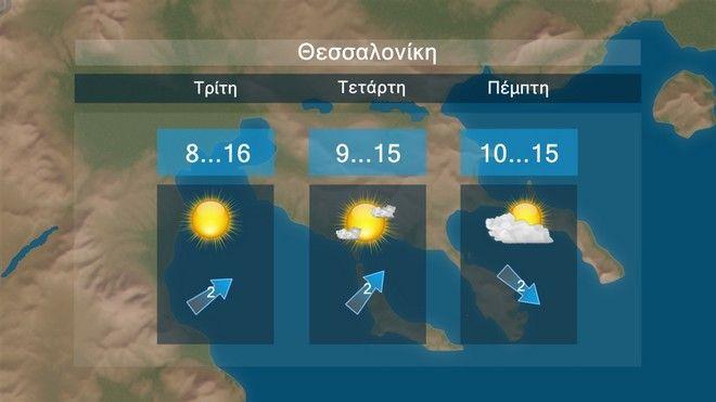 Καιρός: Αρκετή ηλιοφάνεια και κανονικές θερμοκρασίες σχεδόν όλη την εβδομάδα