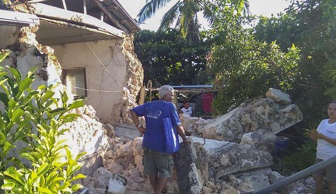 Εικόνα από σεισμό στις Φιλιππίνες τον Ιούλιο του 2019