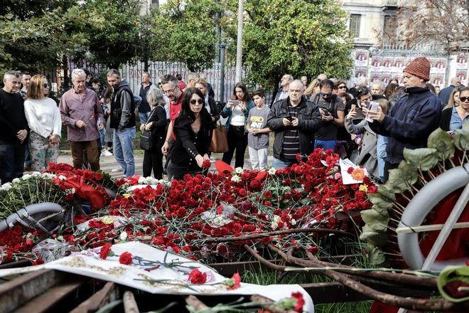 Εορτασμός της 46ης επετείου της εξέγερσης του Πολυτεχνείου, την Κυριακή 17 Νοεμβρίου 2019