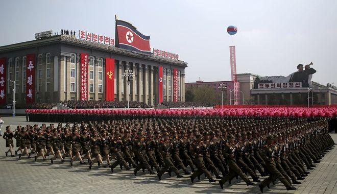 Στρατιωτική παρέλαση στην Βόρεια Κορέα, 2018