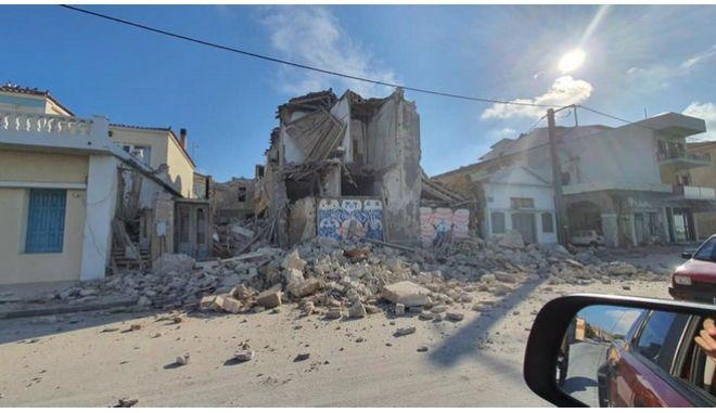 Καταστροφές στη Σάμο από τον ισχυρό σεισμό