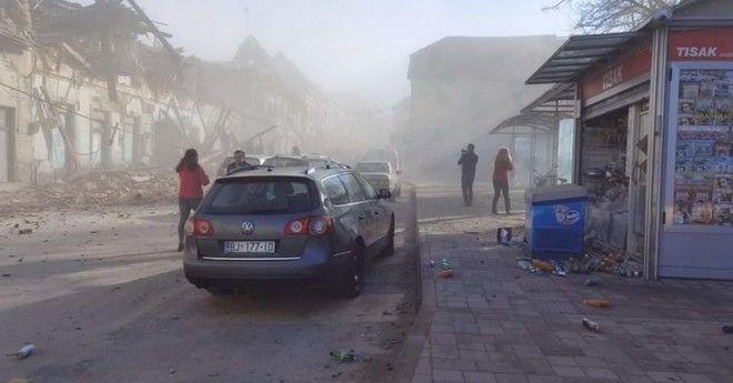 Δυνατός σεισμός στην Κροατία